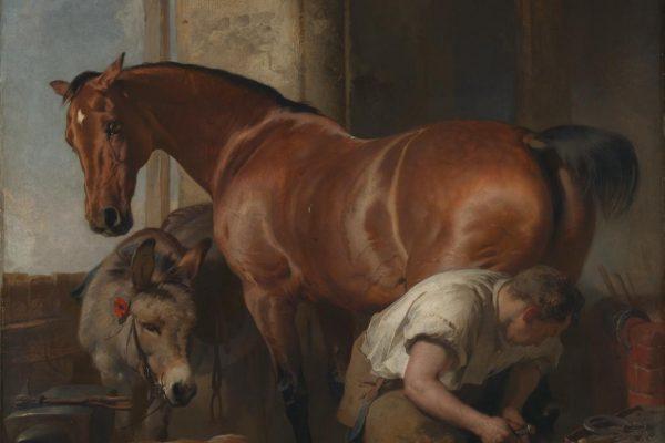 Shoeing, 1844