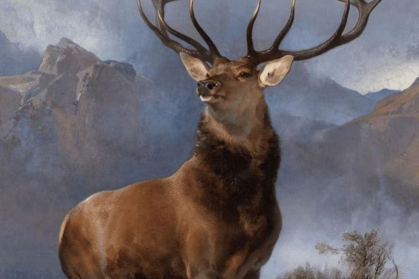 The Monarch of the Glen, 1851